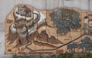 Mural Cami dels monjos 2